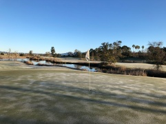 Side view from 6th green.