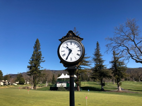 A nice course must have a really nice clock.