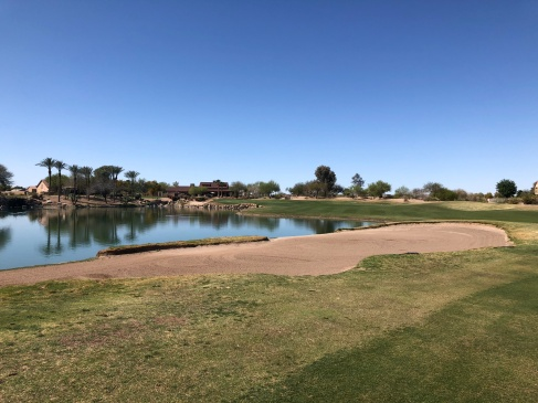 18th approach (closer view to show water in play).