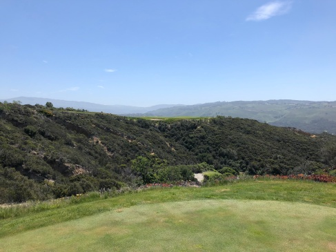 Gold tee view of 14th hole.