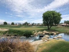 Side view of 4th green (from 3rd tee box).
