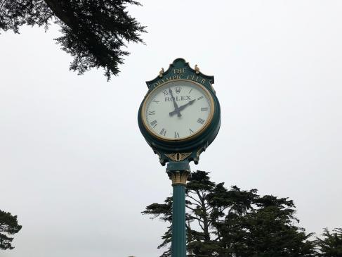 Obligatory Rolex clock shot.