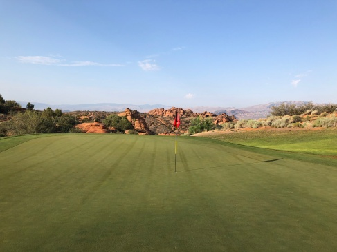 View from 14th green and beyond.