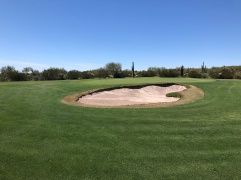 Side view of 3rd green.