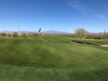 10th green. Quite a unique complex!