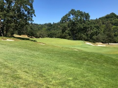 Side view of 2nd green.